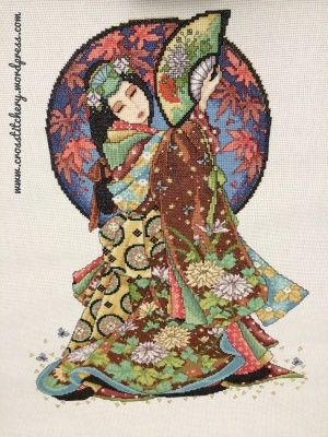 Oriental Odyssey - Oriental Lady (Wisdom) Cross Stitch