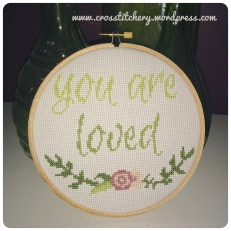 You are Loved Cross Stitch