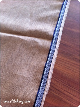 Hessian Aisle Runner