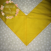 Chevron Baby Quilt - Polka Dot Fabric & Quilting