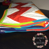 Chevron Baby Quilt - Colours!