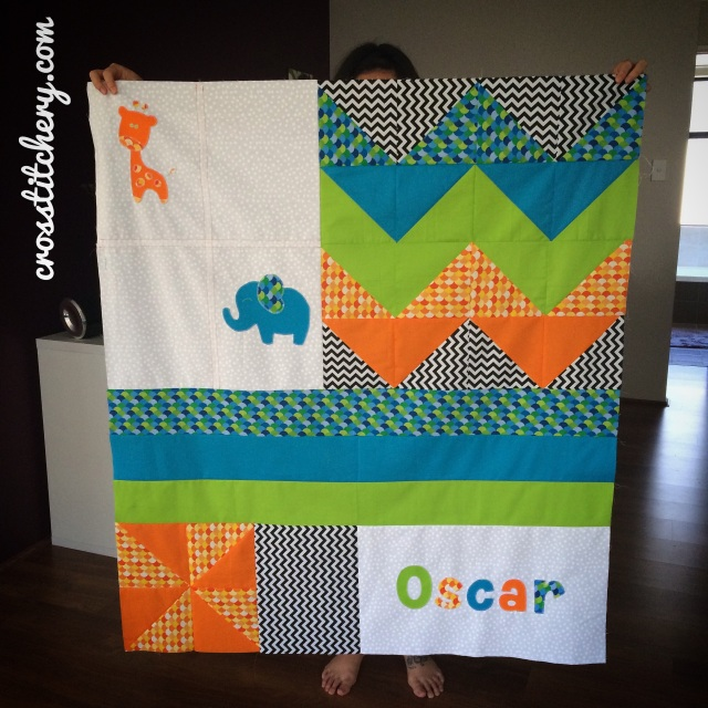 Oscar Quilt - Completed Quilt Top