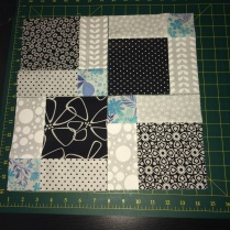 1 cut up and down, 1 cut left to right and this is the creation!