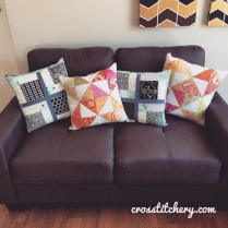 4 Handcrafted Cushions