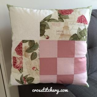 Love Heart Cushion Front