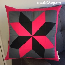 Completed 'Mrs Rockliff' Cushion Front
