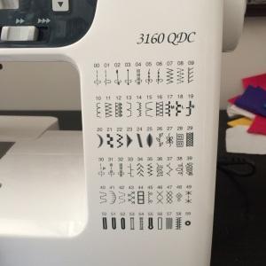 Janome 3160QDC Stitches