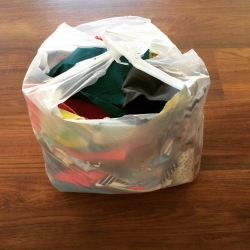 Quilt Scrap Bag