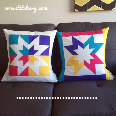 Inverted Star Cushions