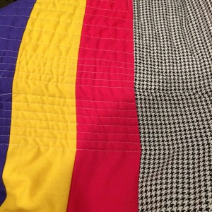 Crooked Lines from Quilting
