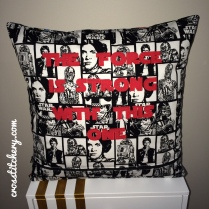 Star Wars Cushion Applique Back