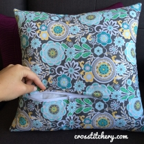 Ombre Home Sweet Home Cushion - Lapped Zipper