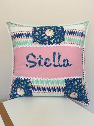 Applique Cushion Front