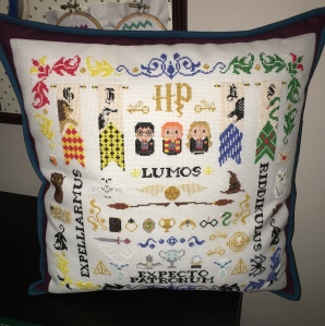 Harry Potter Sampler Cushion