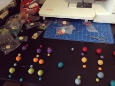 Organising Felt Balls