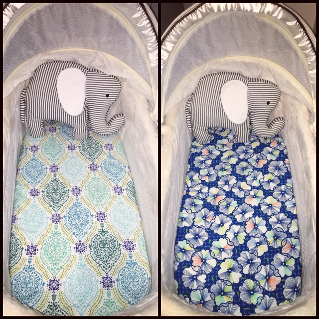 DIY Bassinet Sheets