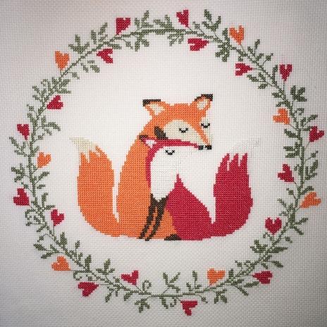 Fox Cross Stitch